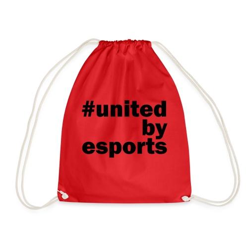 United By Esports schwarz - Turnbeutel