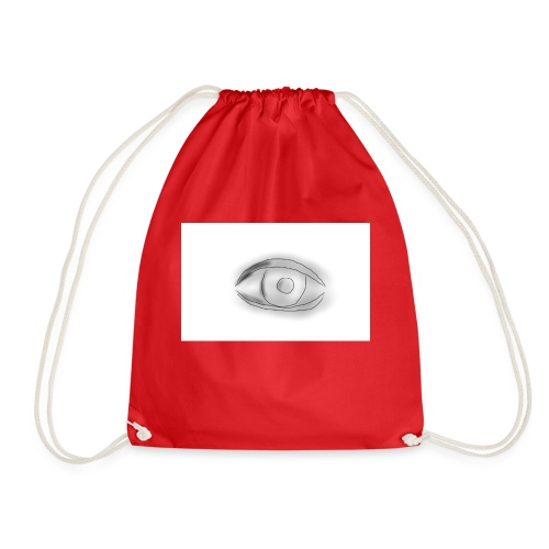 The wandering eye - Drawstring Bag