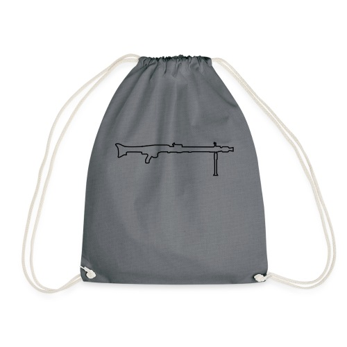 Mg42 Mg3 german gun - Drawstring Bag