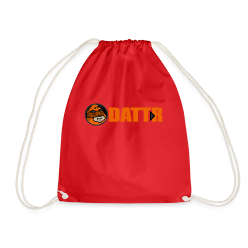 dattr logo - Drawstring Bag