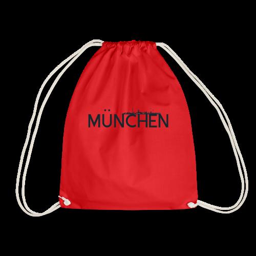 München Logo mit Skyline - Turnbeutel