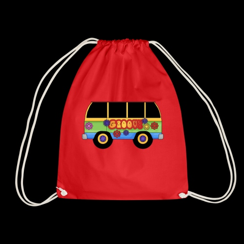 GROOVY BUS - Drawstring Bag