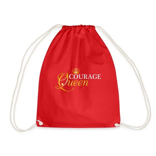 queen courage - Drawstring Bag
