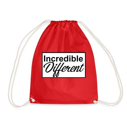 icredibledifferent_logo - Turnbeutel