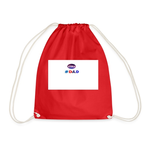 dad merch - Drawstring Bag