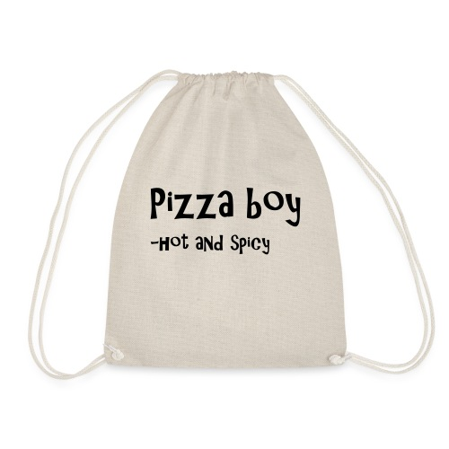 Pizza boy - Gymbag