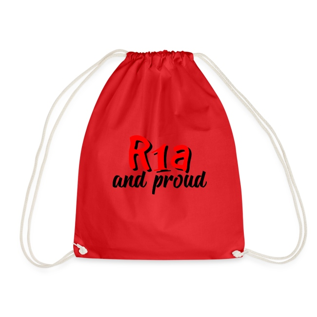 R1a and proud | Drawstring Bag