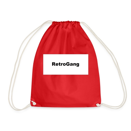 T-shirt retro gang - Gymtas