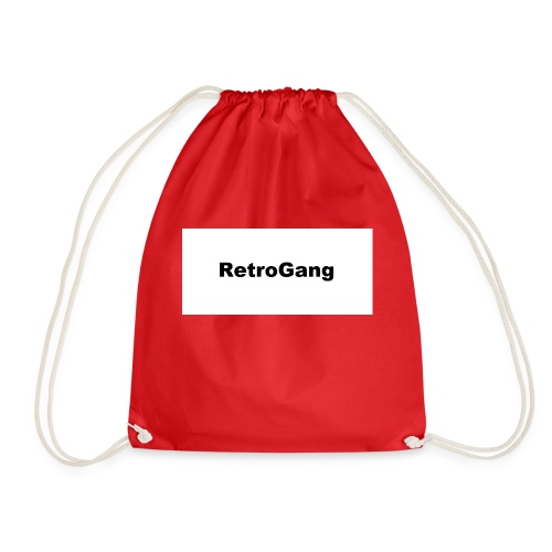 T-shirt retro gang - Gymtas