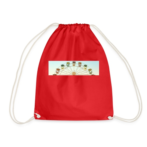 header_image_cream - Drawstring Bag