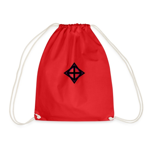 star octahedron geommatrix - Drawstring Bag