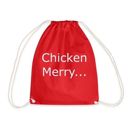 Chicken Merry - Drawstring Bag