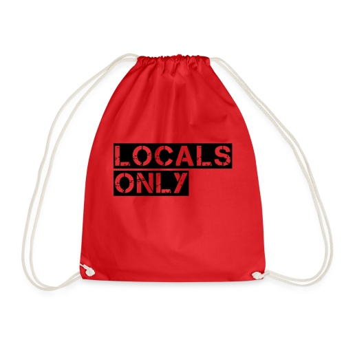 Locals Only - Drawstring Bag