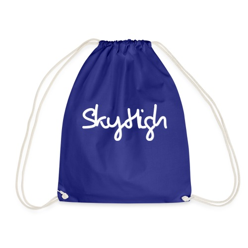 SkyHigh - Snapback - (Printed) White Letters - Drawstring Bag