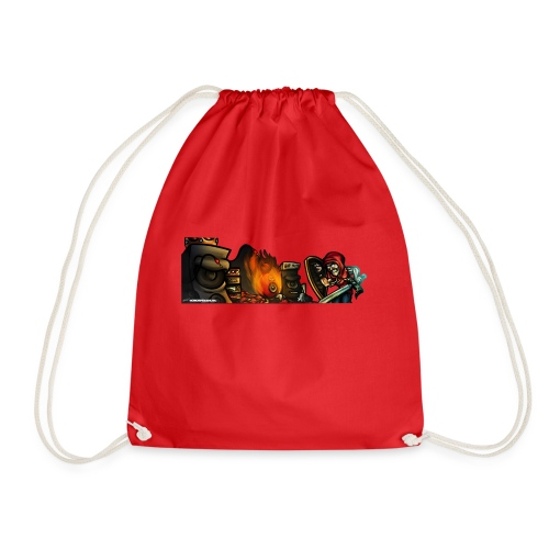 Warrior Fight! - Drawstring Bag