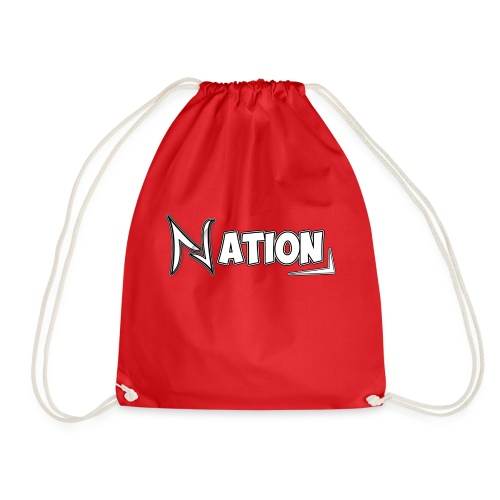 Nation Logo Design - Drawstring Bag