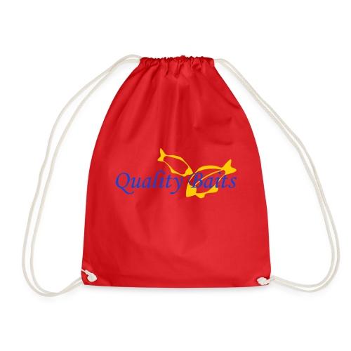 Quality Baits Logo - Drawstring Bag