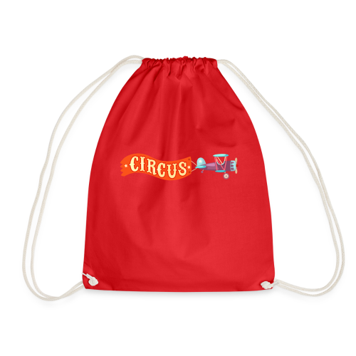 Circus Airplane - Drawstring Bag