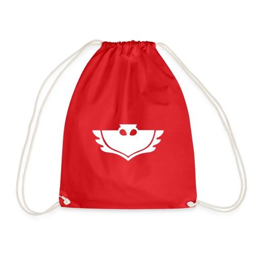 Pj masks Owlette logo - Drawstring Bag