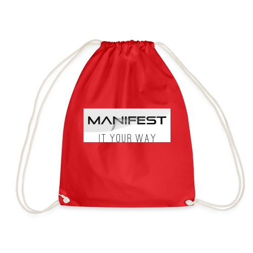 Manifest it your way - Turnbeutel