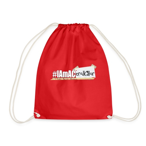 #IAmACerealKiller - Drawstring Bag
