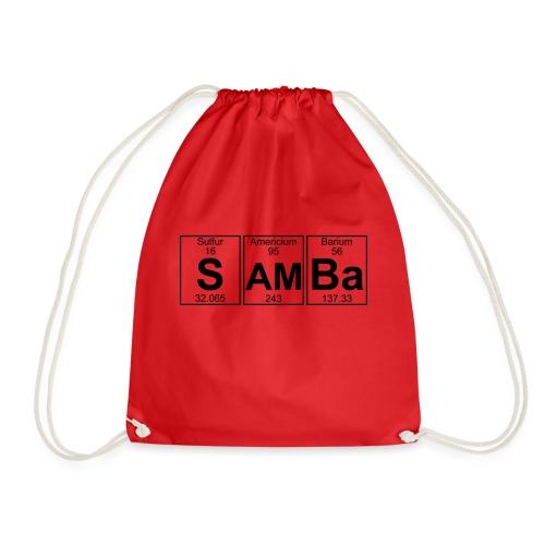 S-Am-Ba (samba) - Full - Drawstring Bag