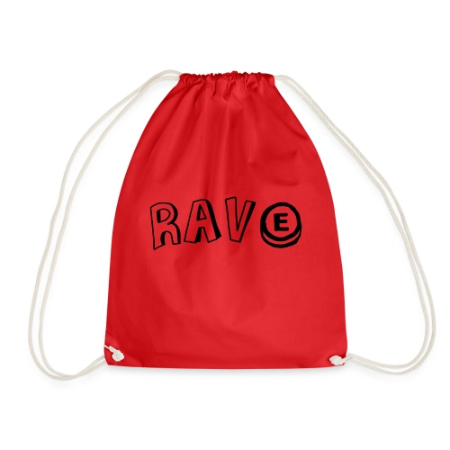 Rave E - Drawstring Bag