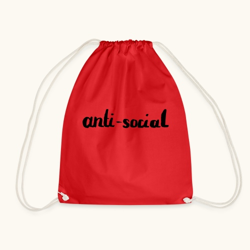 anti-social asocial énonciation drôle comme un cadeau - Sac de sport léger