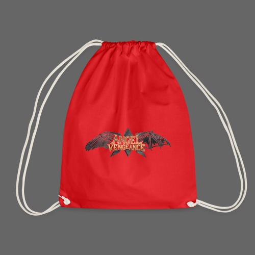 Angel Vengeance - logo - Drawstring Bag