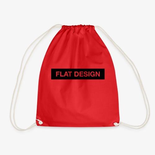 flat design - Turnbeutel