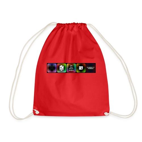 5 Logos - Drawstring Bag