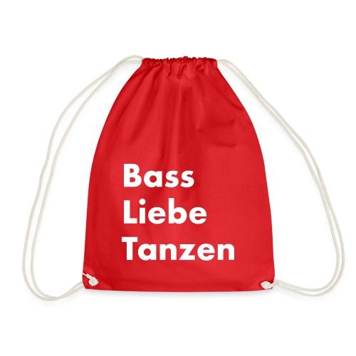 Bass Liebe Tanzen - Turnbeutel
