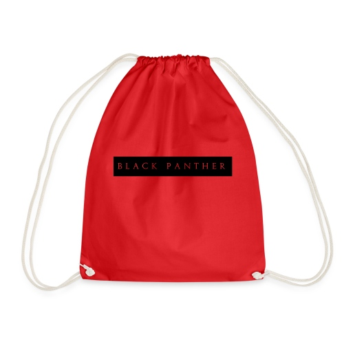 Black-Panther-White-Text - Gymbag