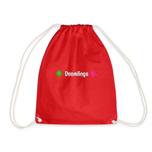 Doomlings Splat Banner - Drawstring Bag