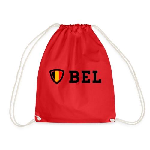 BEL Belgium Blason tricolore Football - Sac de sport léger