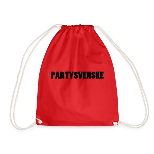 partysvenske - Gymbag