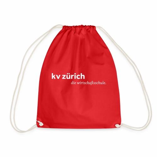 KVZ Logo Weiss - Turnbeutel