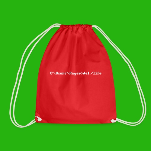 Programming Get A Life - Drawstring Bag