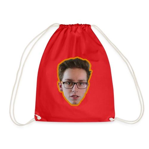 T-shirt met ginger hoofd op - Gymtas