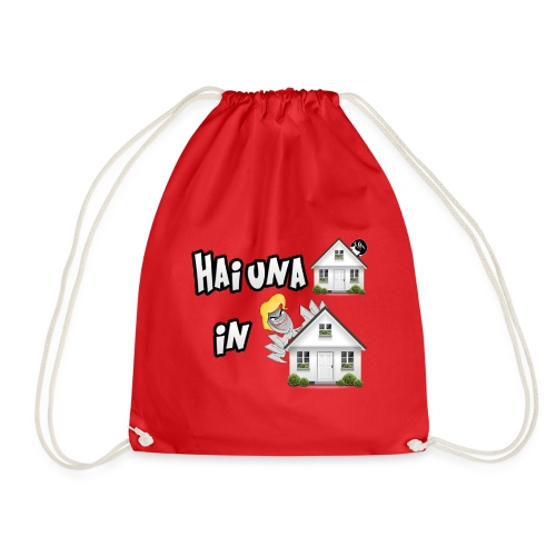 T-Shirt Hai una Casa in Casa - Sacca sportiva