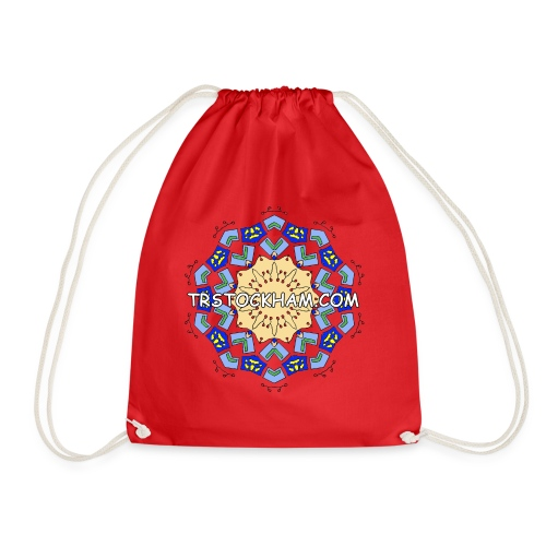 Enjoyably Quirky Colouring Book Design 7 - Drawstring Bag