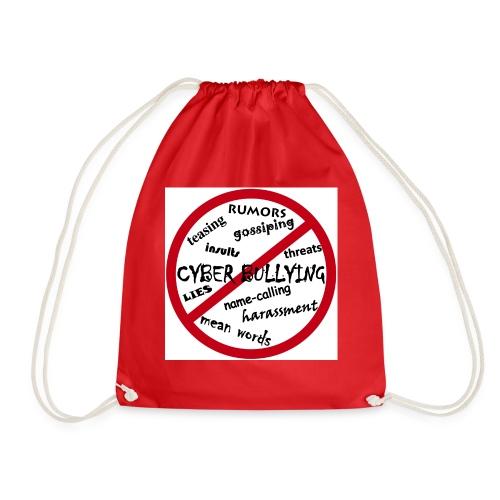 anti-bullying armour - Drawstring Bag