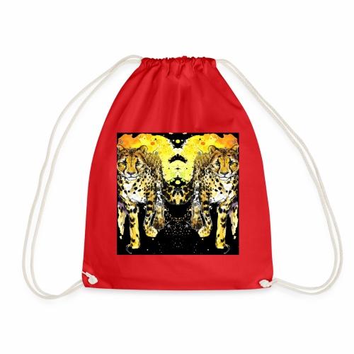 Karo Style Tiger - Turnbeutel