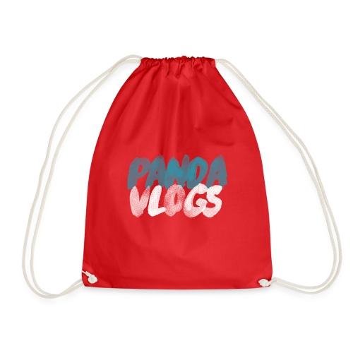 PandaVlogs - Drawstring Bag