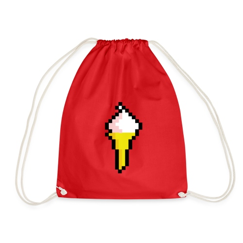Ice Cream Cone - Drawstring Bag