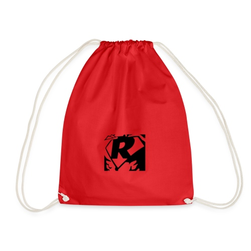 Black R2 - Drawstring Bag