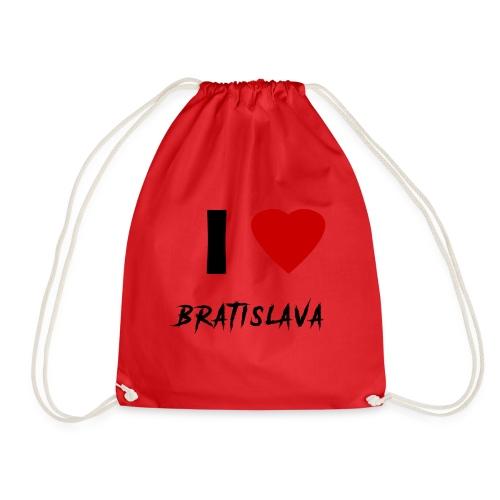 I ♥ Bratislava - Turnbeutel