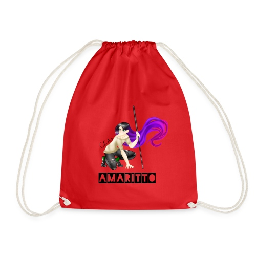 official amaritto logo - Drawstring Bag