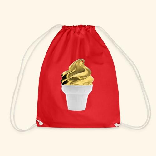 Diseño dorado oro - Mochila saco