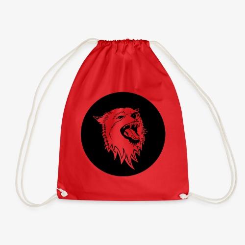 Howling Wolf - Drawstring Bag